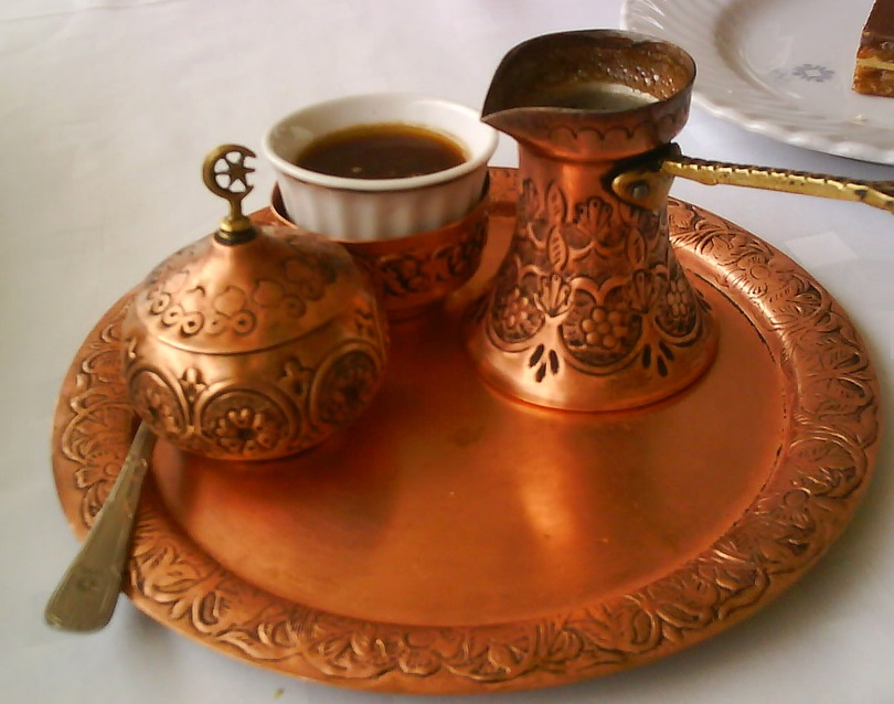 how to make and drink turkish coffee